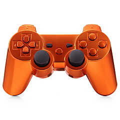 plating oransje trådløse joystick bluetooth dualshock3 SIXAXIS oppladbart controller gamepad for ps3