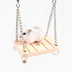 klokken swing, hamster træ ringe, 1 stk