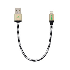 Carve MFI 0.6ft / 20CM Nylon Lightning to USB Data Cable for Apple iPhone 7 6s 6 Plus SE 5s 5/ iPad mini