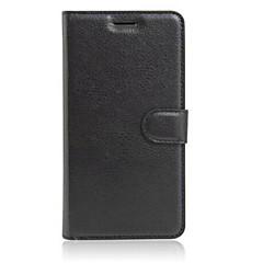Voor Mi hoesje Kaarthouder / Portemonnee / met standaard / Flip hoesje Volledige behuizing hoesje Effen kleur Hard PU-leer Xiaomi Other