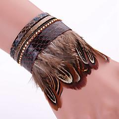 Fashion Multilayer Rhinestone Leather Tassel Bracelets Bangles Magnetic jewelry