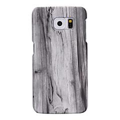 arrière Extra-Fin en bois PC Dur Couverture de cas pour Samsung S7 edge / S7 / S6 edge plus / S6 edge / S6