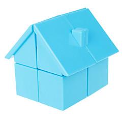 Cubes Magiques IQ Cube Yongjun Deux couches Niveau professionnel Cube de vitesse lisse Magic Cube Puzzle Bleu / Rose / Jaune ABS
