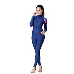 Others Women's Diving Suits Diving Suit Compression Wetsuits 2.5 to 2.9 mm Blue XXS / XS / S / M / L / XL / XXL Diving
