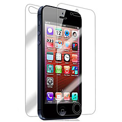 ENKAY 0.26mm 9H 2.5D Front and Back Explosion-Proof Tempered Glass Screen Protector for iPhone 5/5S
