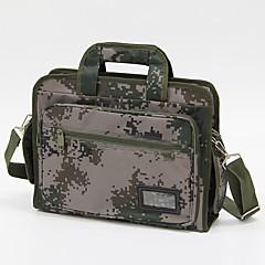 15 colos terepszínű laptop táskával / üzleti / diák hadsereg zöld