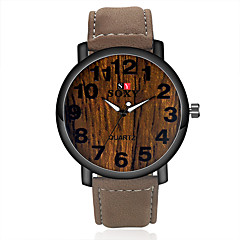 Simulation Wooden Relojes Quartz Men Watches Casual Wooden  Leather Strap Watch Wood Male Wristwatch Relogio Masculino