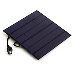 4.5W 5V USB Output Monocrystalline Silicon Solar Panel Charger for iPhone 6S Samsung HUAWEI (SW4505U)