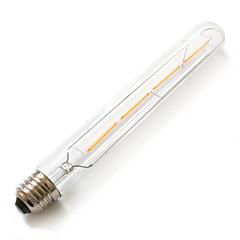 4W E26/E27 Lampadine globo LED T 4 COB 380 lm Bianco caldo Decorativo / Impermeabile AC 220-240 V 1 pezzo