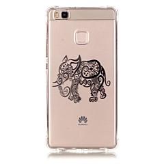 Για Θήκη Huawei / P9 / P9 Lite / P8 Lite Με σχέδια tok Πίσω Κάλυμμα tok Ελέφαντας Μαλακή TPU HuaweiHuawei P9 / Huawei P9 Lite / Huawei P8