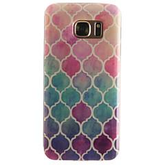 Για Samsung Galaxy S7 Edge Με σχέδια tok Πίσω Κάλυμμα tok Γεωμετρικά σχήματα Μαλακή TPU SamsungS7 edge / S7 / S6 edge / S6 / S5 Mini / S5