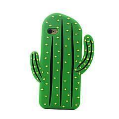 vissza Ütésálló Gyümölcs Szilikon Mekano cactus Tok Apple iPhone 6s Plus/6 Plus / iPhone 6s/6 / iPhone SE/5s/5