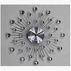 Moderne/Contemporain Autres Horloge murale,Nouveauté Métal 13.2*13.2 Intérieur Horloge