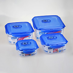 YOOYEE Brand 4 in1 Set BPA Free Microwave Safe Plastic Container Manufacturer,Plastic Food Boxes