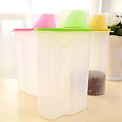 1 Cocina Cocina Plástico Tupperwares 13*5*25cm
