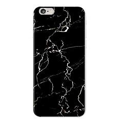 granit frecat marmura neagră caz de telefon moale caz TPU pentru iPhone 5 Funda 5s SE 6 caz 6s 6plus