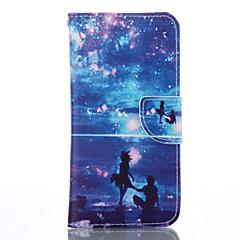 Voor Samsung Galaxy S7 Edge Portemonnee / Kaarthouder / met standaard hoesje Volledige behuizing hoesje Tegels Zacht PU-leer SamsungS7