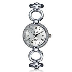 Women's Dress Watch Fashion Watch / Quartz Alloy Band Vintage Casual White