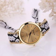 Mulheres Relógio de Moda Quartz Tecido Banda Boêmio Cores Múltiplas marca-