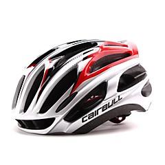 Helmet Pyörä(Valkoinen / Vihreä / Punainen / Musta / Sininen,PC / EPS)-deUnisex-Pyöräily / Maastopyöräily Urheilu 24 HalkiotSuuri: