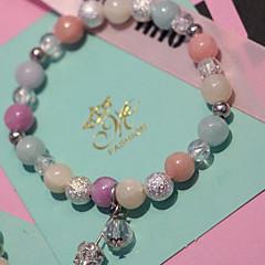 Strand Bracelets 1pc,Assorted Color Bracelet Fashionable Circle 514 Agate Jewellery