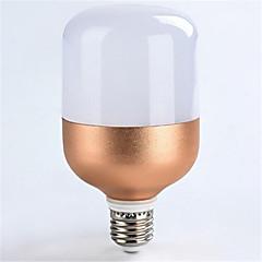 18w e27 1600lm chłodny biały kolor oświetlenie punktowe światło oświetlenie róża złota powłoka (ac160-265v)