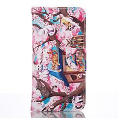 For Samsung Galaxy S7 Edge Pung Kortholder Med stativ Etui Heldækkende Etui Kat Blødt Kunstlæder for Samsung S7 edge S6 S5 Mini S4 Mini S4