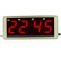 ultra stort display førte digitale vægur metalhus stik for frosset alarmen ført elektronisk bord ur
