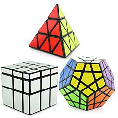 Shengshou® Smooth Speed Cube pyraminx / Alien / Megaminx Spiegel / professioneel niveau Magische kubussen Zwart Fade gladde Sticker