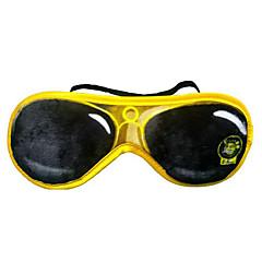 eyeshade di sonno di dormire aviazione viaggio una maschera per gli occhi di protezione degli occhiali da sole imitazione degli occhi