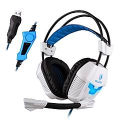 Sades A30S Høretelefoner (Pandebånd)ForMedie Player/Tablet / ComputerWithMed Mikrofon / DJ / Lydstyrke Kontrol / FM Radio / Gaming /