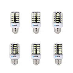 10W E14 B22 E26/E27 Lâmpadas Espiga B 108 SMD 5733 900 lm Branco Quente Branco Frio Decorativa AC 220-240 V 6 pçs