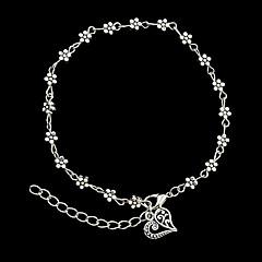 Damskie Bransoletki i łańcuszki na rękę Bransoletki cuff Modny Osobiste biżuteria kostiumowa Stop Flower Shape Biżuteria Biżuteria Na