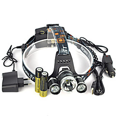 13000Lm 3xXM-L2 LED Rechargeable Headlamp HeadLight Torch USB Lamp