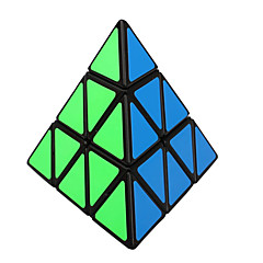 Shengshou® Tasainen nopeus Cube 3*3*3 Nopeus / Professional Level Rubikin kuutio Musta Fade PVC