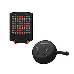Pyöräily Pyöräilyvalot / Polkupyörän jarruvalo LED / Laser LED ladattava / Erityiskevyet / Varoitus 100 Lumenia Patteri Punainen Pyöräily-