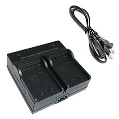 한국 후지 필름 NP-W126 X-pro1 hs33 hs35 hs33exr hs30exr에 대한 W126 디지털 카메라 배터리 듀얼 충전기