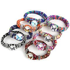 Bransoletki Bransoletki z breloczkami / Bransoletki Wrap Stop / Nylon Line Shape Modny Codzienny / Casual / Sport Biżuteria PrezentDark