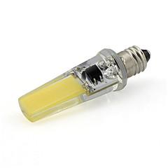 Dimmable E11 Led Light Bulb Silicone COB 350Lm 220V - 240V Warm White/Cold White (1 Piece)