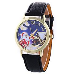 Women's Fashion Analog Stripe Ladies' Christmas Cool Display Strap Bohemia Quartz Wrist Watch