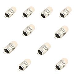 4 G4 LED-lamper med G-sokkel T 8 SMD 3020 120 lm Varm hvid / Kold hvid Dekorativ DC 12 V 10 stk.