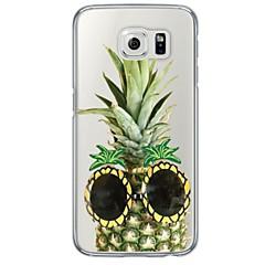 Για Samsung Galaxy S7 Edge Εξαιρετικά λεπτή / Ημιδιαφανές tok Πίσω Κάλυμμα tok Φρούτα Μαλακή TPU SamsungS7 edge / S7 / S6 edge plus / S6