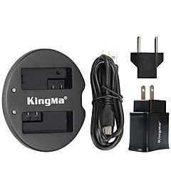 USB 어댑터 플러그 전원과 캐논 배터리와 캐논 EOS 550D EOS 600D EOS 650d EOS 700D에 대한 kingma 듀얼 USB 충전기
