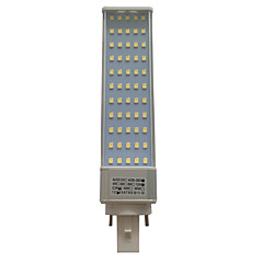 12W G23 / G24 / E26/E27 LED Bi-Pin lamput T 55 SMD 2835 1000-1100 lm Lämmin valkoinen / Kylmä valkoinen KoristeltuAC 85-265 / AC 220-240