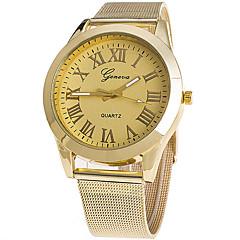 Женские Модные часы Наручные часы Повседневные часы / Кварцевый сплав Группа Cool Повседневная Золотистый