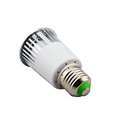 5 E14 / B22 / E26/E27 LED Spot Lampen MR16 1 Hochleistungs - LED 450 lm RGB Dimmbar / Ferngesteuert AC 85-265 V 1 Stück