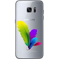 Για Samsung Galaxy S7 Edge Με σχέδια tok Πίσω Κάλυμμα tok Τοπίο Μαλακή TPU Samsung S7 edge / S7 / S6 edge plus / S6 edge / S6