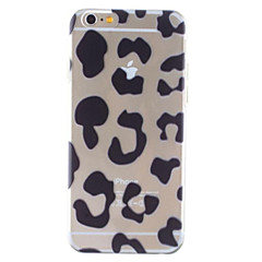 Mert iPhone 6 tok / iPhone 6 Plus tok Átlátszó / Minta Case Hátlap Case Leopárd minta Kemény PC iPhone 6s Plus/6 Plus / iPhone 6s/6