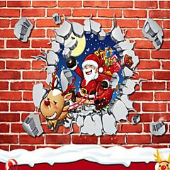 romantikus karácsonyi hópehely falimatrica az üzlet üvegablak dekorációs matricák az új évben 45 * 60 cm-es