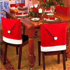 6db karácsonyi székhuzat karácsonyi decorations65 * 50cm